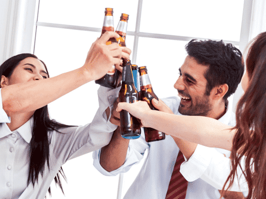How to cope with alcohol in the workplace